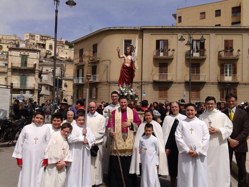 madonna vasa vasa parte della processione